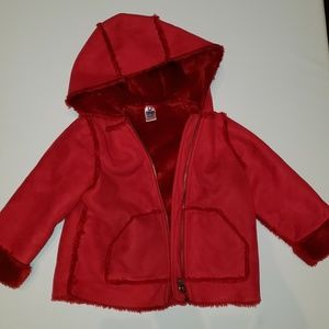 Other - Red suede jacket